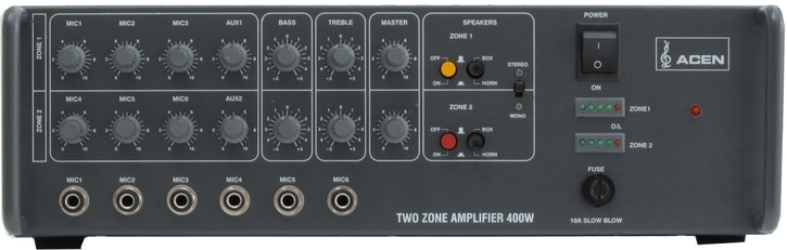 amplifier power rating