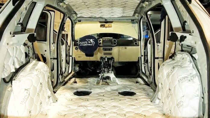 car soundproofing
