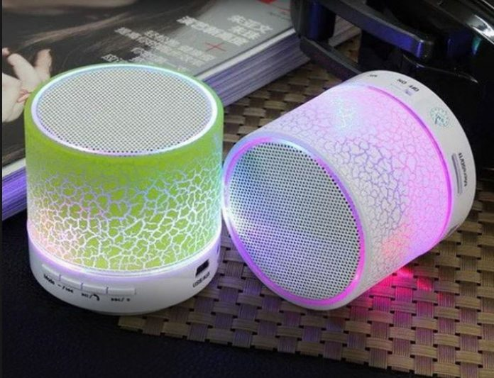 Bluetooth LED speakers
