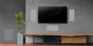In Wall Speakers With Enclosure
