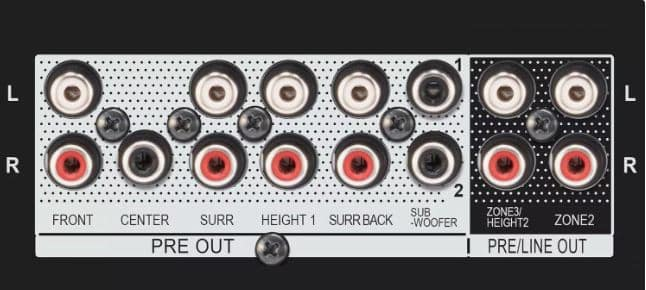 Preamp Out