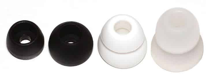 Single Flange Silicone Earbuds