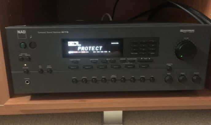 What is Amplifier Protect Mode