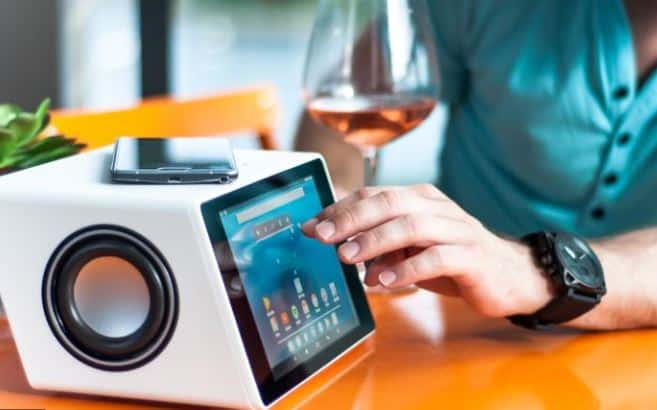 Bluetooth Speakers with Touch Screen