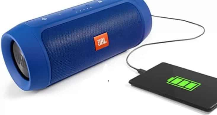 charge speaker with powerbank