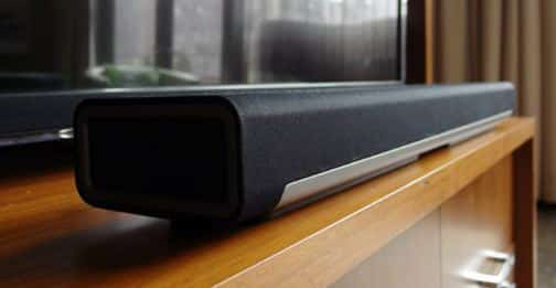 soundbar and tv