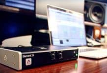 audio interface and dac