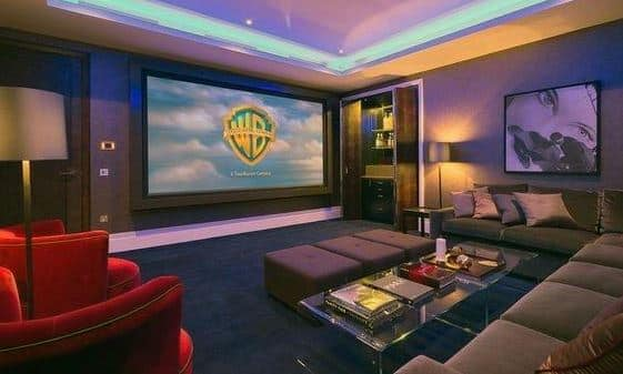 drywall home theater