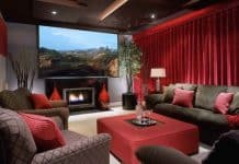 Home Theater Soundproof Curtains