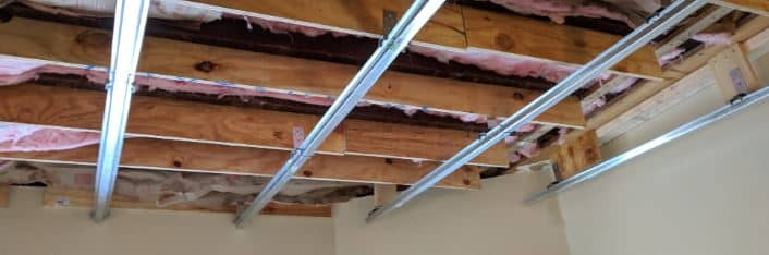 isolate ceiling joists soundproof home theater