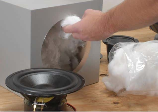 Fill the Box with Polyester Fiber Stuffing polyfill