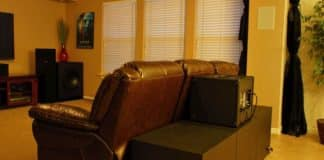 Placing a Subwoofer Behind Your Couch for Better Audio Performance