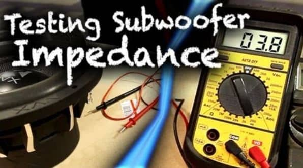 Reduce Electrical Impedance in subwoofer