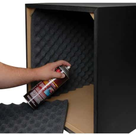 Sound Dampening Materials to subwoofer acoustic foam