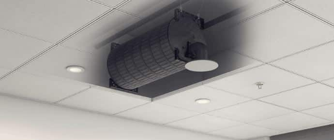 Subwoofer with Ceiling Speaker