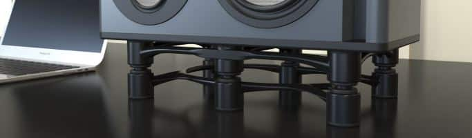 isolate subwoofer from the floor