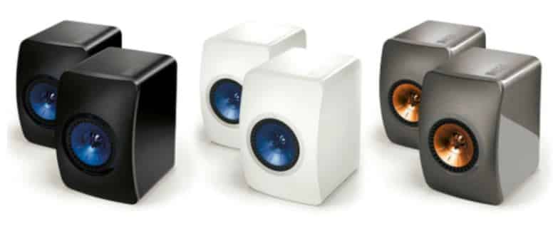 kef speaker buid and design