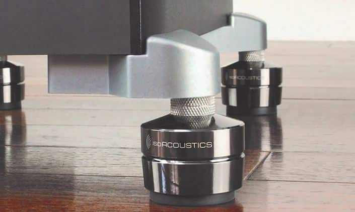 subwoofer rubber isolating feet