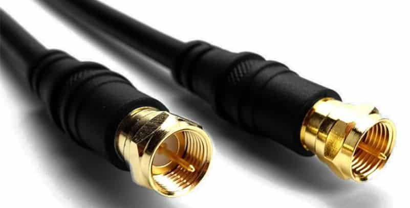 coxial cable as subwoofer cable