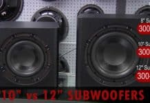 10 inch vs 12 inch subwoofers