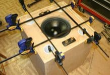 How To Seal A Subwoofer or Speaker Box
