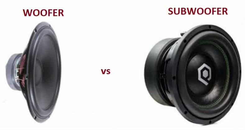 Woofer vs Subwoofer Why They Are Different