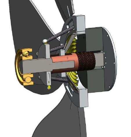 rotary woofer cutaway view