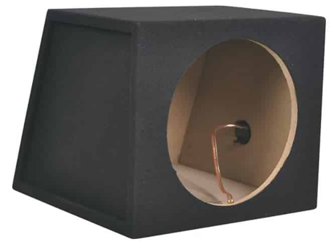 seal subwoofer box holes with gasket