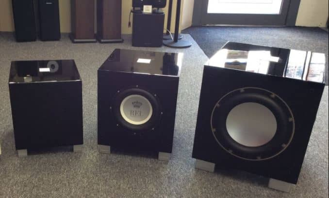 subwoofer Size, Weight and Power Demands