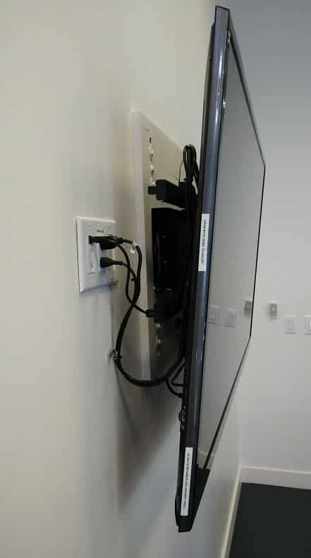 tv plywoof mount for attaching bracket studs too far apart
