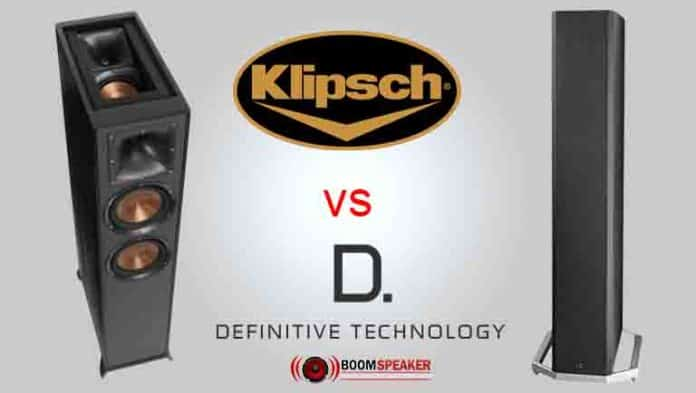 Definitive Technology vs Klipsch Definitive Technology BP-9020 vs Klipsch Reference R-625FA