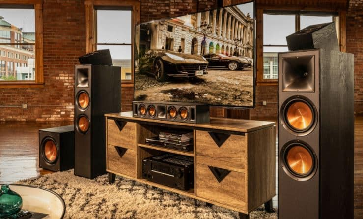Klipsch tower speakers home theater