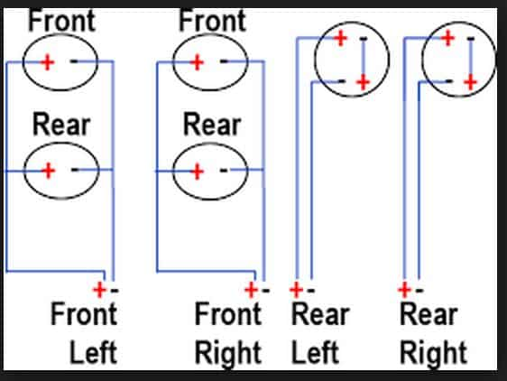 How To Wire 6 Speakers To A 4 Channel Amp wiring diagram parallel