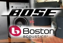 Bose vs Boston Acoustics