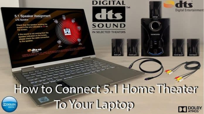 How Do I Connect 5.1 Speakers To A Laptop