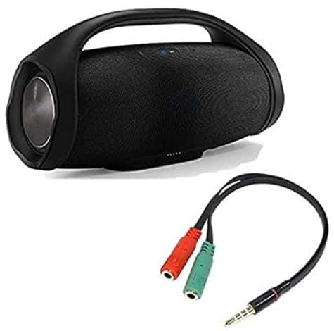 Use an Audio Jack to prevent unauthorized access to bluetooth speaker