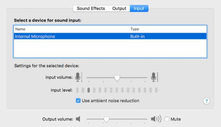 Adjust Mac Audio Settings