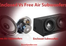 Enclosed Vs Free Air Subwoofer