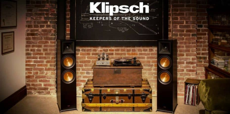 klipsch floorstanding speakers