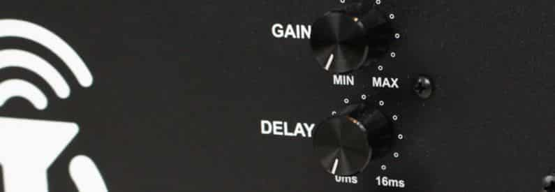subwoofer volume and gain control