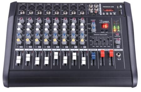 What Is A Powered Mixer