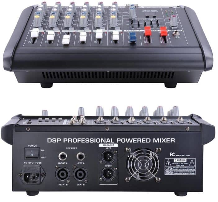 what is a powered mixer and why use one