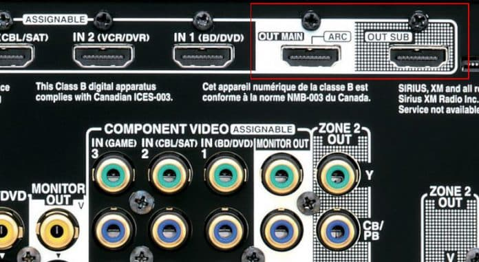 What Is An HDMI Output Used For On Receivers