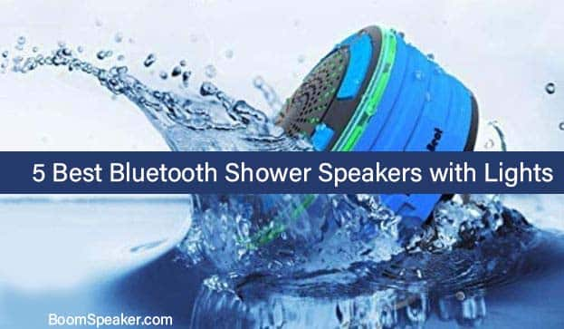 Best Bluetooth Shower Speakers with Lights
