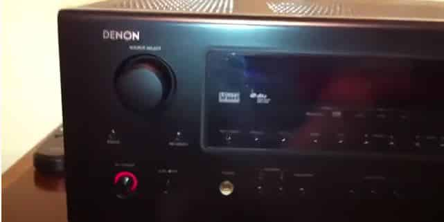 Denon Receiver Turns Off and Blinks Red