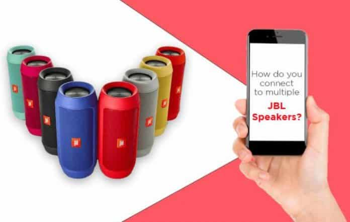 How to Connect Multiple JBL Speakers