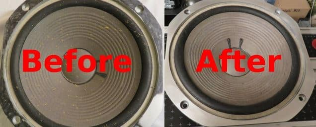 How Do You Clean Dirty Speaker Cones