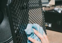 How to Clean Speaker Grills