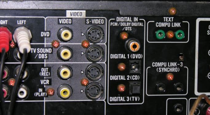 Receiver to Your TV Using RCA Cables