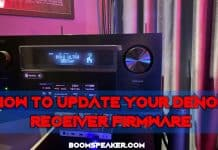 How To Update Your Denon Receiver Firmware